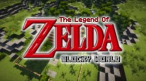 Baixar The Legend of Zelda - Blocky World para Minecraft 1.9.4