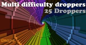 Baixar Multi Difficulty Droppers para Minecraft 1.10