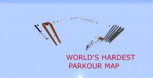Baixar WORLD'S HARDEST PARKOUR MAP! para Minecraft 1.13.1