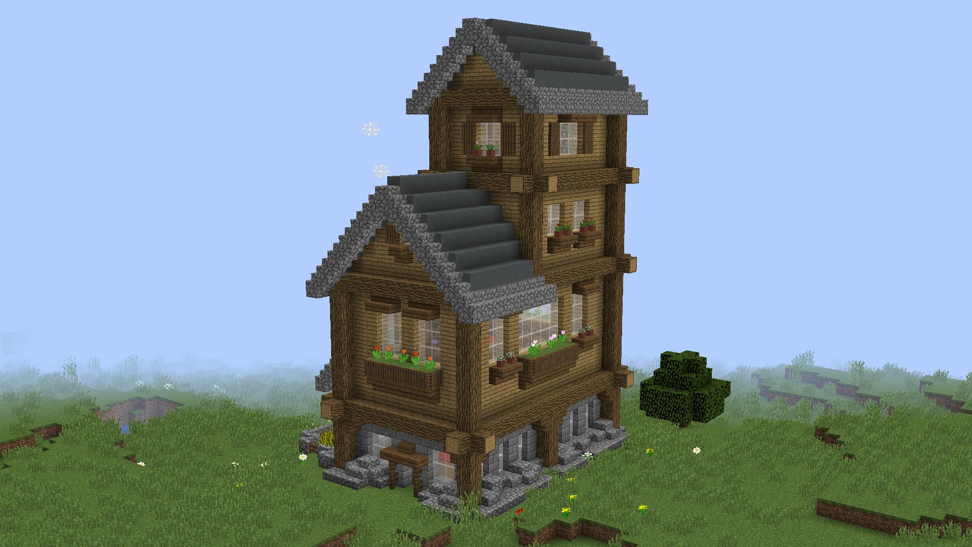 Baixar «Small Rustic House» (11 mb) mapa para Minecraft