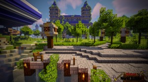 Baixar Castle and Gladiator Arena para Minecraft 1.13.2