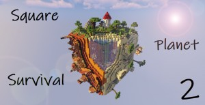 Baixar Square Planet Survival 2 para Minecraft 1.14.4