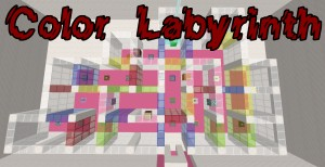 Baixar Color Labyrinth para Minecraft 1.14.4
