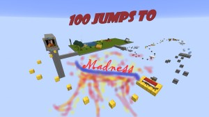 Baixar 100 Jumps to Madness para Minecraft 1.15.2
