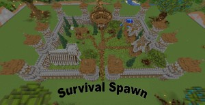 Baixar Castle Survival Spawn para Minecraft 1.16.5